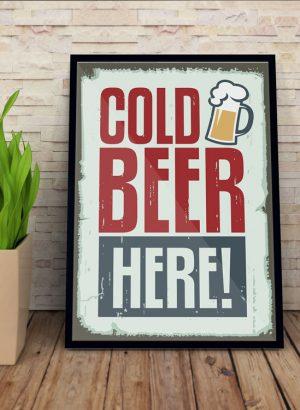 poster-cold-beer-beer---mockup