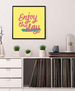 103_frase - Enjoy The Day