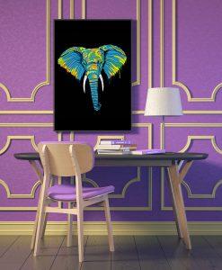 11_elefante - Elefante Estilizado