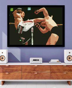 24_esporte - Momentos do MMA - Gabriel Gonzaga VS Mirko Crocop (2)