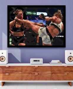 25_esporte - Momentos do MMA - Holly Holm VS Ronda Rousey