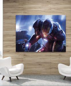 4_iron_man_poster - Iron Man