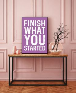 58_frase - Finish What You Started