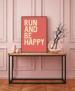 59_frase - Run And Be Happy