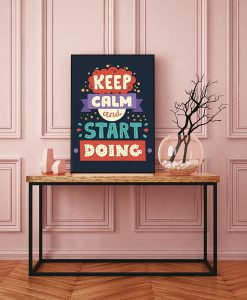 98_frase - Keep Calm And Start Doing